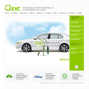 Webdesign: EVC Group